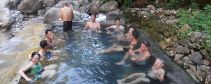 Annapurna Base Camp Treking Jhinu Hot Spring
